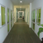 Office walkway