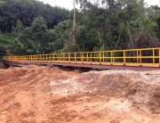 Footbridge at sremawu